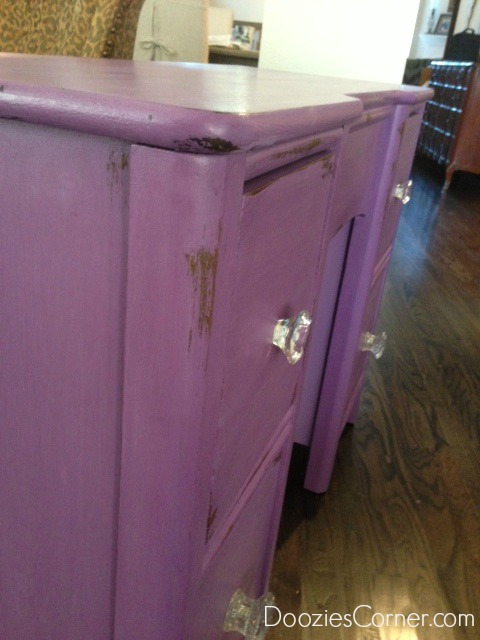 purpledresserdiychalkclaypaint